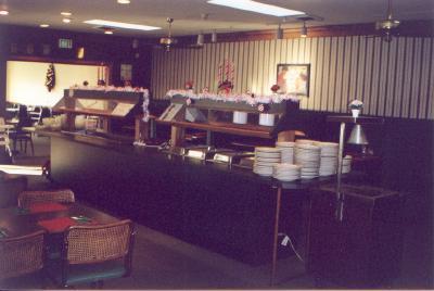 salad and buffet bar